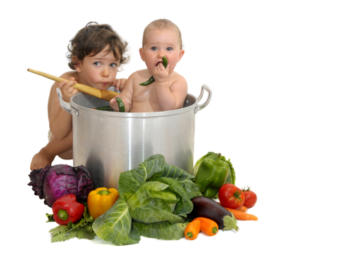Wegetarianizm w rodzinie, czyli dziecko na diecie bez mięsa.